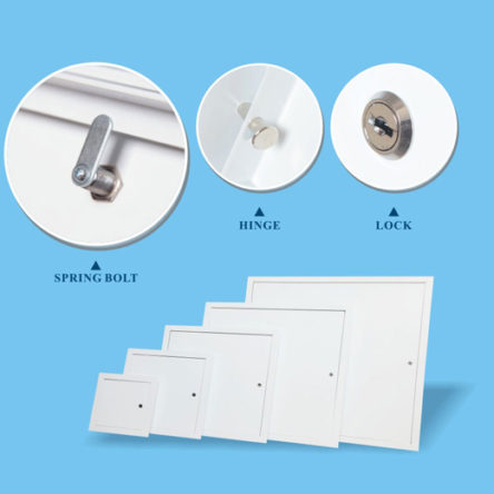 A02 Aluminum Access Panel for Drywall