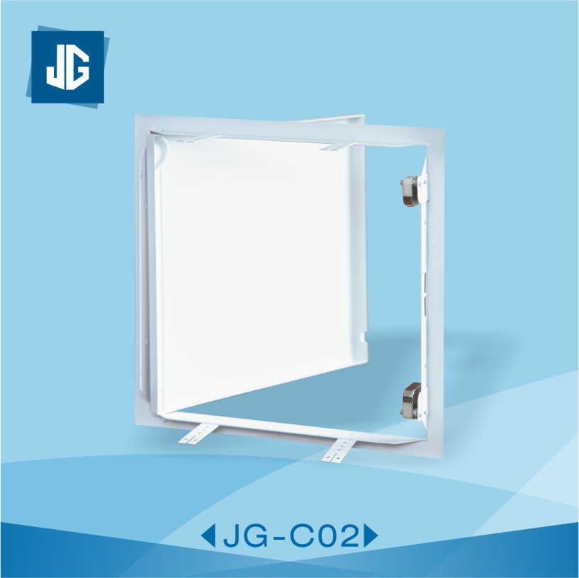 C02 Galvanized Access Panel White Coated